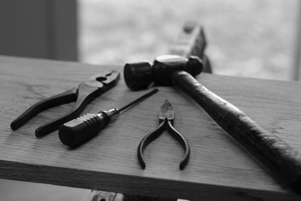 A bad workperson blames their tools