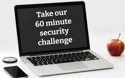 Take our 60 minute security challenge