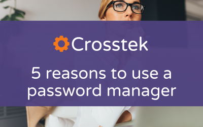 5 reasons you should be using a password manager