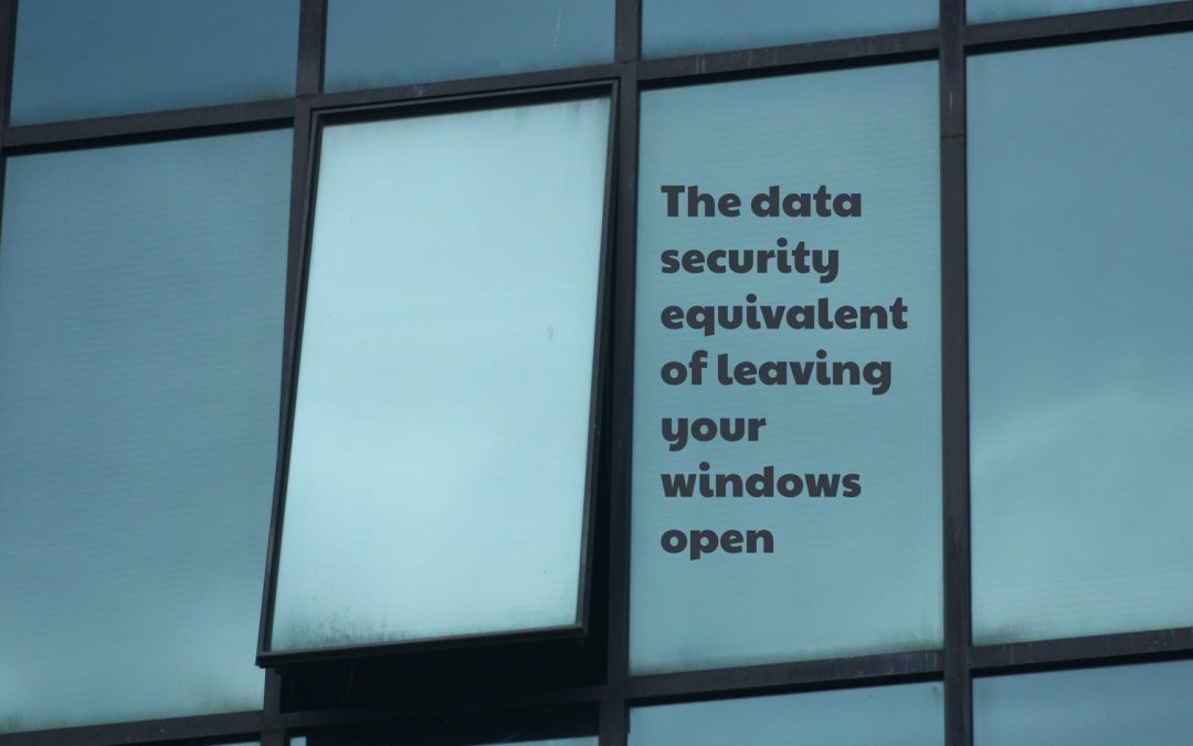 The data security equivalent of leaving your windows open